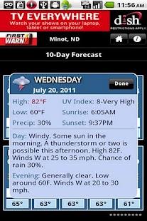 KMOT Wx - screenshot thumbnail