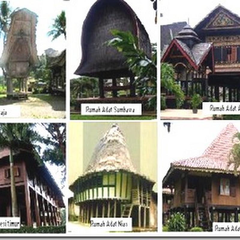Gambar Rumah Adat Di Indonesia Beserta Nama Daerahnya Rumah Adat Indonesia