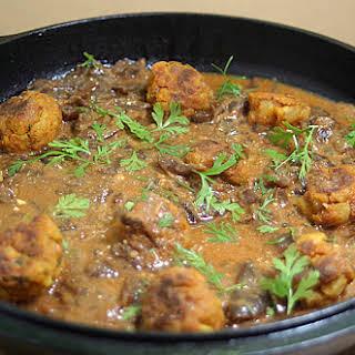 Baked Potato Ball Curry.