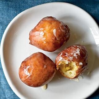 Maple-Glazed Sour Cream Doughnut Holes