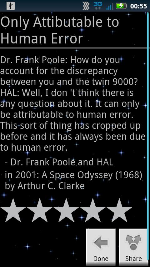 sci-fi quotes- screenshot