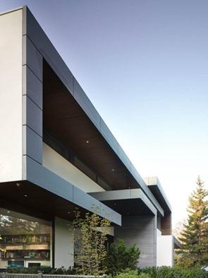 fachada-de-casa-contemporanea-acero-y-hormigon