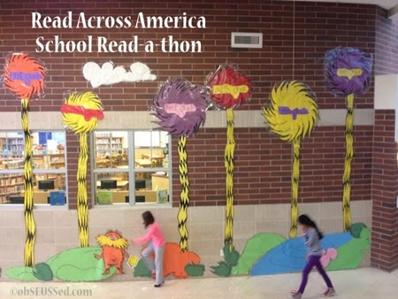 photo regarding Read Across America Printable called obSEUSSed: Browse Throughout The usa: University Readathon and