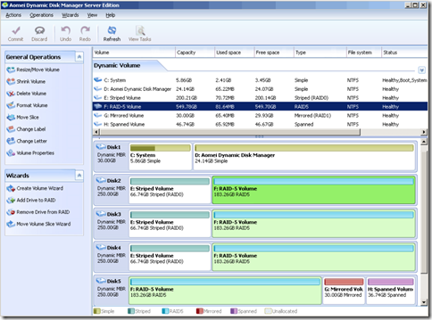 Aomei Dynamic Disk Manager Home Edition