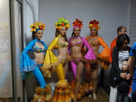Dansatoare cubaneze