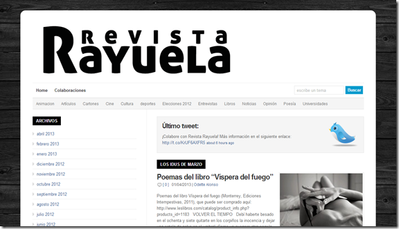 revista rayuela preview