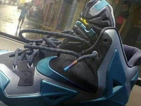 new styles 2f92f 087d0 First Look at Nike LeBron XI Armory Slate Gamma Blue ...