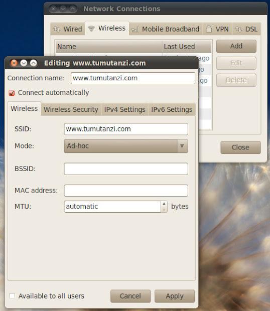 How to Make an Ubuntu Laptop as a WiFi Hotspot