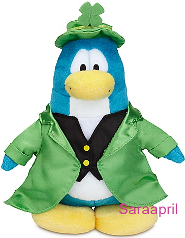 Leprechaun Penguin Plush Toy :)