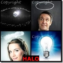 HALO- 4 Pics 1 Word Answers 3 Letters