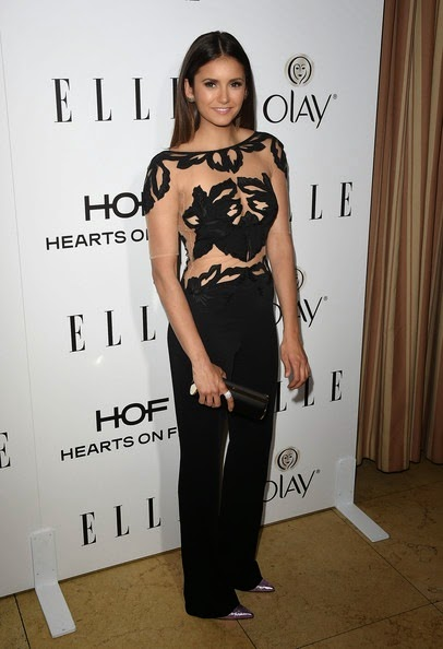 Nina Dobrev attends ELLE's Annual Women in Television Celebration