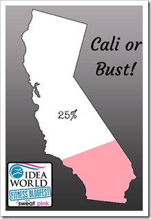 Cali or Bust! 25% with text