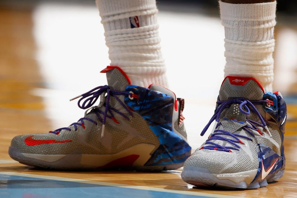 new product d77d0 49e60 ... Alternate 8220USA Basketball8221 LeBron 12 That Just Might Come Out ...
