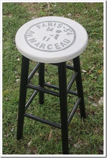 French Style Stool