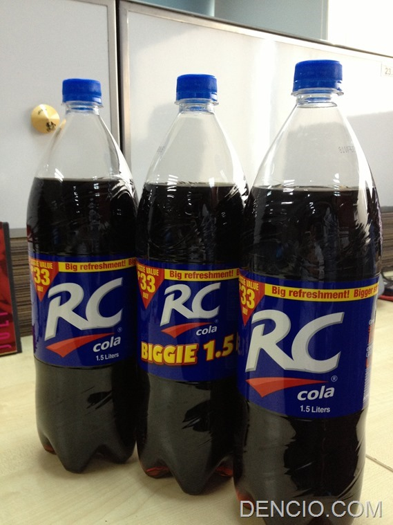 RC Cola Philippines Biggie 1.5 1