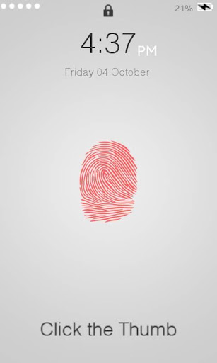 Prank Fingerprint Touch ID