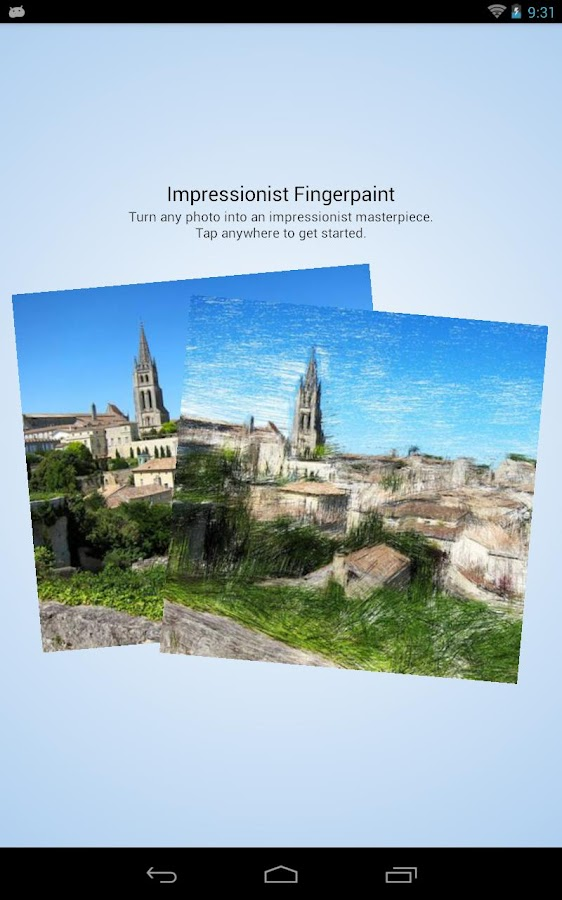 Impressionist Fingerpaint - screenshot