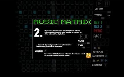 Music Matrix Screenshot 2