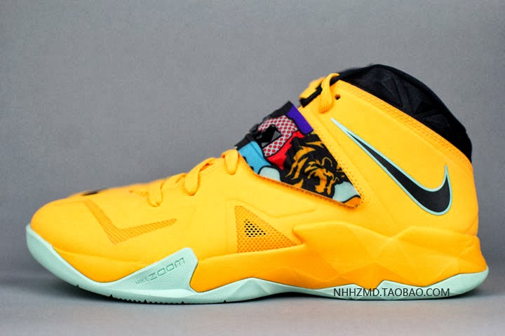 Nike Soldier VII 8220Coconut Groove8221 aka PopArt available at Eastbay .  ... 901e6a7776c9