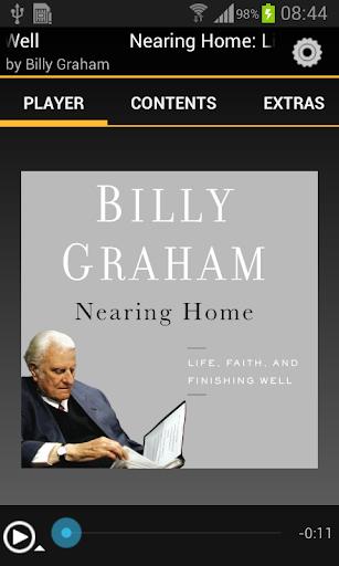 Nearing Home Billy Graham