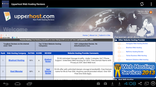 Upperhost Web Hosting Reviews