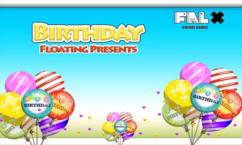 Birthday Floating Presents- screenshot