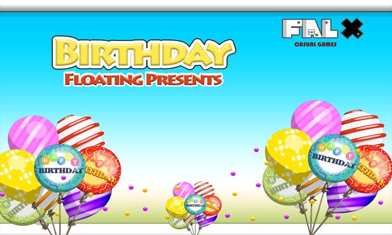 Birthday Floating Presents - screenshot