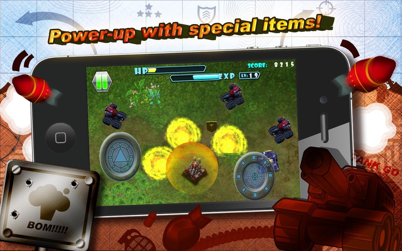 3D TANK GO- screenshot