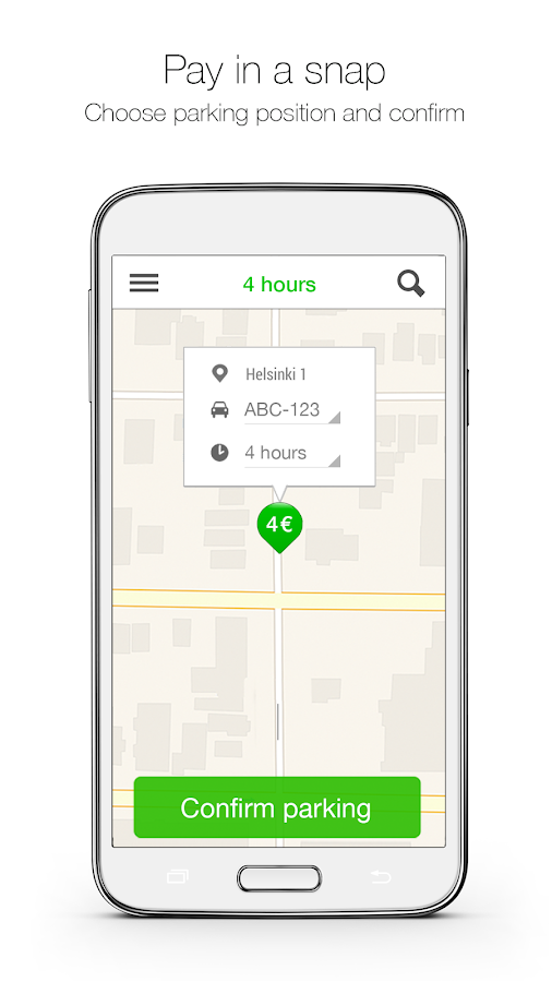 ParkMan - The Parking App- screenshot