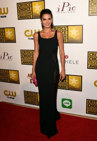 Angie Harmon 4th Annual Critics Choice Television