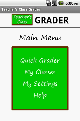 Teacher's Class GRADER FREE- screenshot