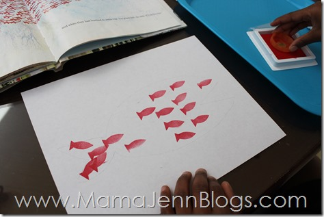 Swimmy by Leo Lionni Stamp Activity