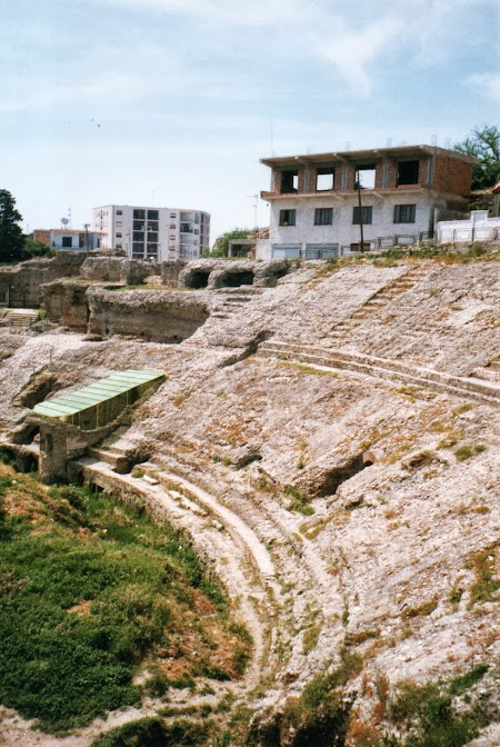 Obiective turistice Albania: Amfiteatru Durres.