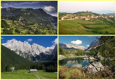 Paisajes Eslovenia