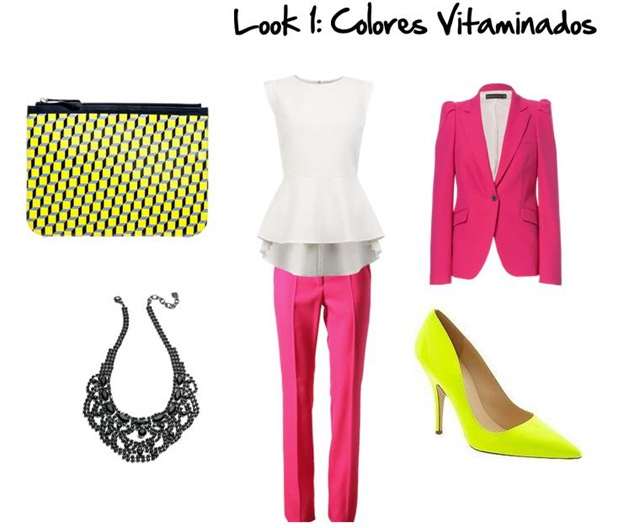 Look 1. Colores Vitaminados