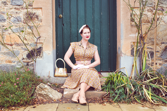 The Dress from the Sisterhood of the Vintage Dress visits Australia | Lavender & Twill