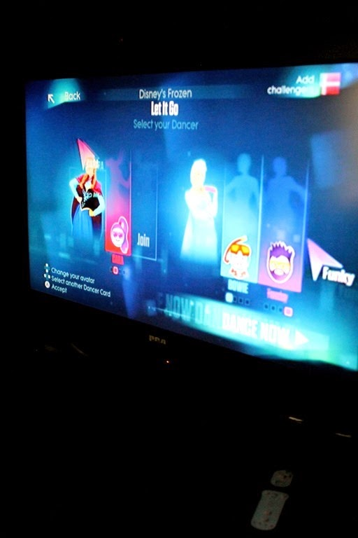 family fun Just Dance 2015