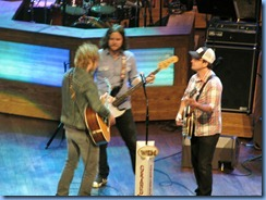 9301 Nashville, Tennessee - Grand Ole Opry radio show - Dierks Bentley & his band