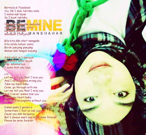 lirik be mine _ tasha manshahar copy
