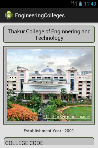 Engineering Colleges- screenshot