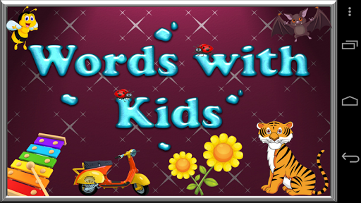 Words With Kids - Learning ABC