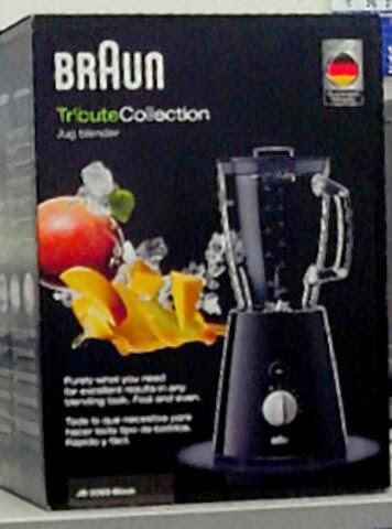 braun mixer tribute in schwarz