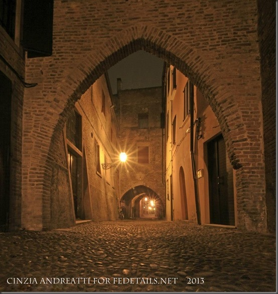 Cinzia Andreatti for Fedetails.net, Via delle Volte, Photo 2, Ferrara, Emilia Romagna, Italy - Property and Copyrights of Cinzia Andreatti