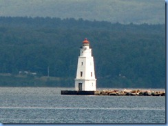 2772 Wisconsin US-2 East - Ashland - Lake Superior & Ashland Breakwater Lighthouse from Bayview Park, also known as Pamida Beach