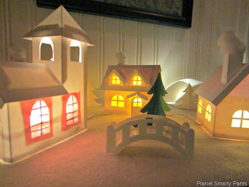 Paper-Christmas-Village-1