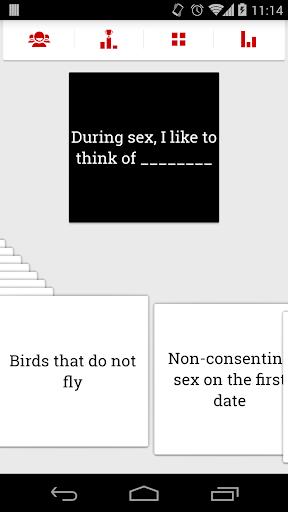 Cards versus Morality
