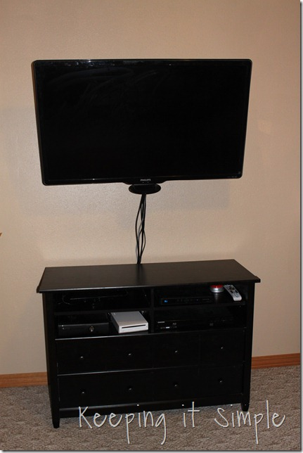 New Tv Stand From Staples Keeping It Simple