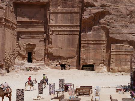Fatade nabateene din Petra