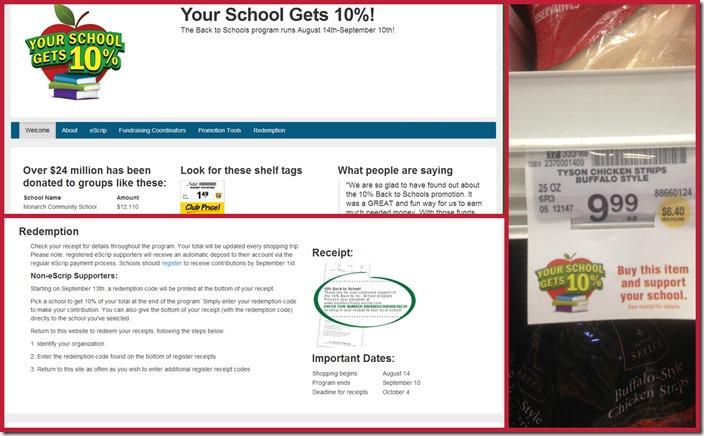#ad Safeway school Program