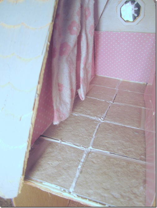 Bathroom Floor (Dollhouse)